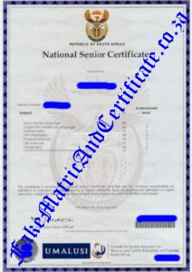 fake death certificate sample matric