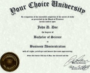 fake death certificate university degree diplomas life experience