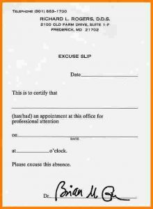 fake dentist note excuse notes for school printable doctor excuse note for school