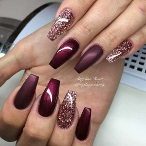 fall nails designs bfbaffaefbbdc tape nails bling nails