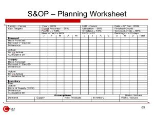 family budget spreadsheet sop process