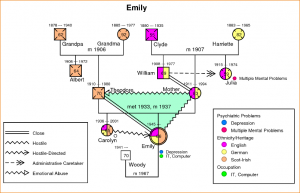 family genogram example example of a genogram sample ex