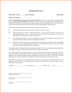 family loan agreement blank promissory note template e