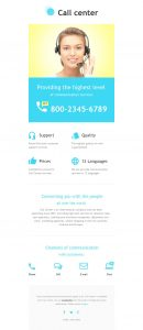 family newsletter template call center responsive newsletter template original
