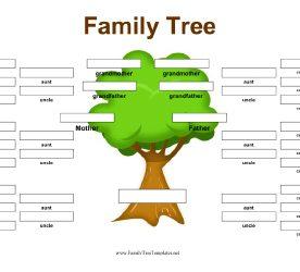 family tree blank blank family tree template