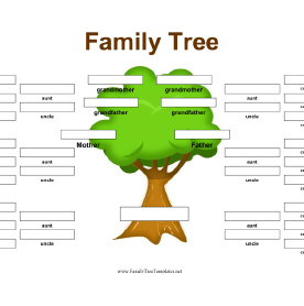 family tree blank
