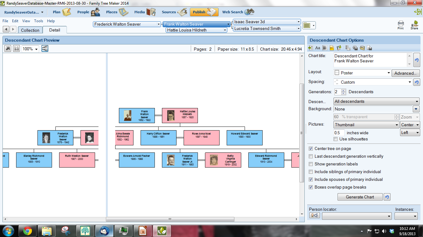 This is a photo of Revered Printable Family Tree Maker