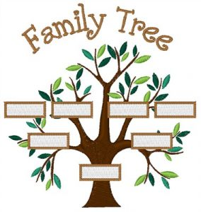 family tree design bnc