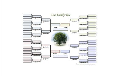 family tree diagram editable family tree diagram free pdf download