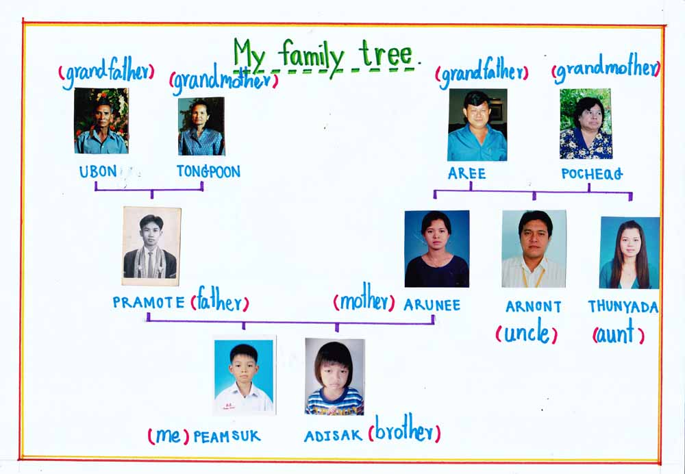 family tree excel