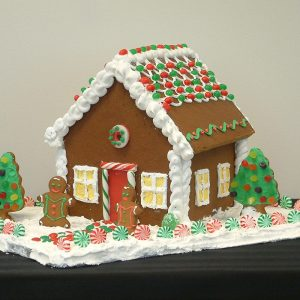 family tree for kids gingerbread house