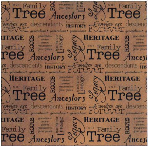 family tree sample
