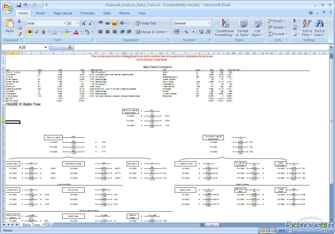 family tree template excel