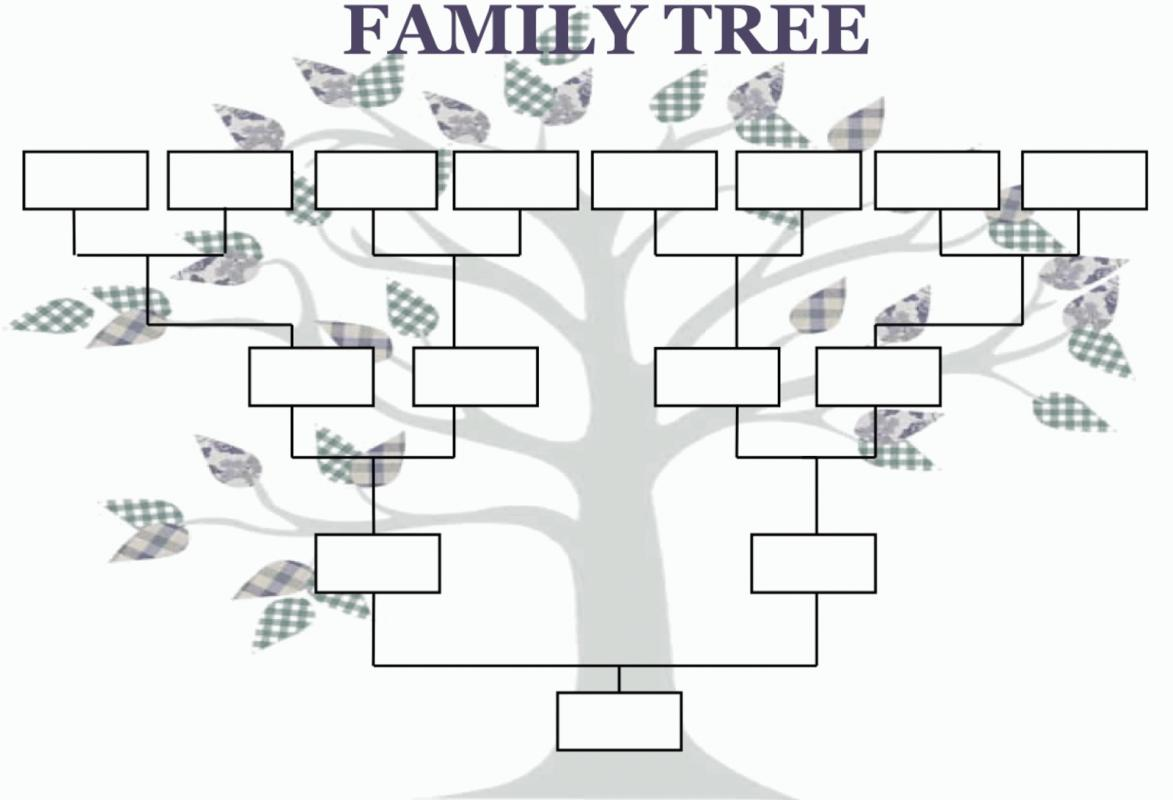 Family tree template template business for Genealogy templates for family trees