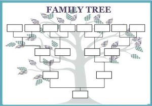 family tree template word family tree template