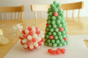 family trees for kids gumdrop tree craft
