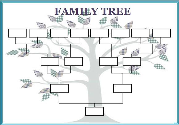 family trees format