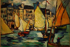 famous black and white paintings vlaminck