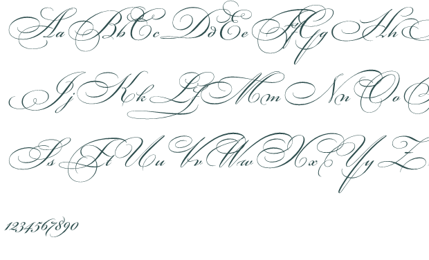 fancy cursive letters fancy cursive letters template business 12760