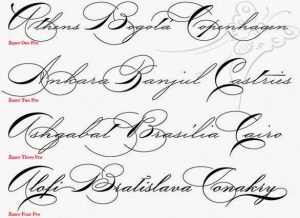 fancy cursive letters fancy cursive handwriting