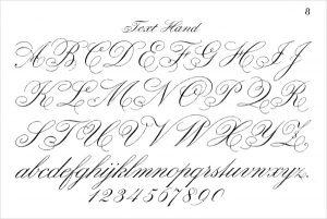 fancy cursive letters fancy script cursive letters