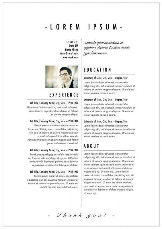 fashion designer resume