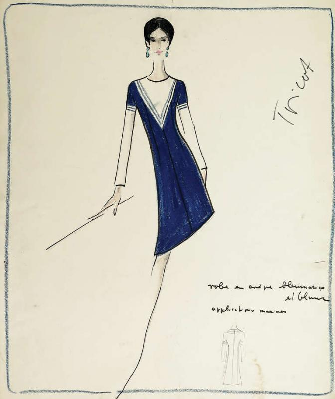 fashion designer sketches