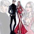 fashion designer sketches newyearglam