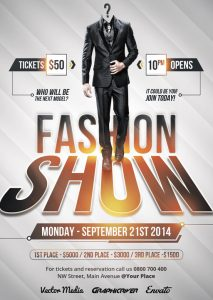 fashion show flyer aa deb