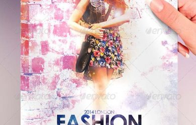 fashion show flyer a fashion show flyer