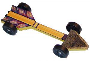 fast pinewood derby car templates arrow