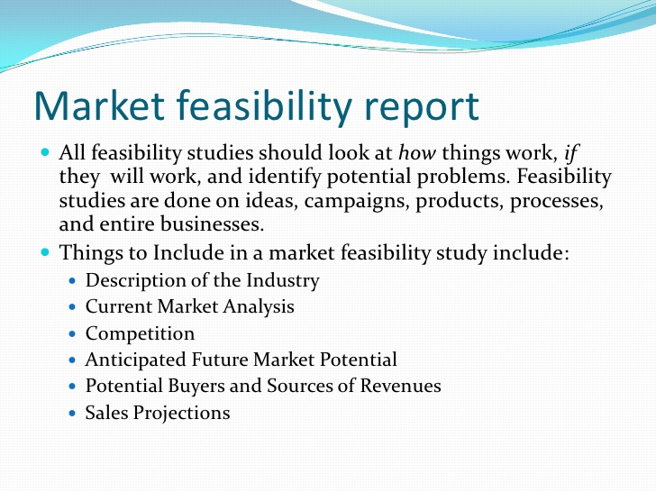 feasibility analysis template