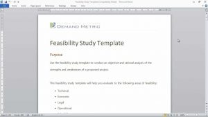 feasibility analysis template maxresdefault
