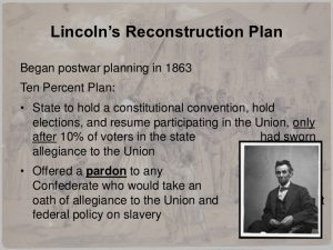 federal government resume lesson ppt reconstruction
