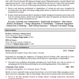 federal resume sample federal resume sample