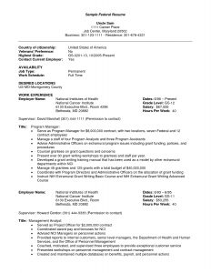 federal resume sample job resume federal resume template word federal resume