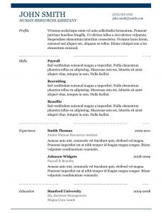 federal resume template good it resume why this is an excellent resume business insider with good looking resume