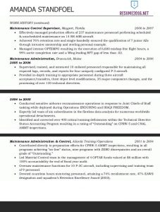 Federal Resume Template Federal Resume Example  Sample Federal Resume