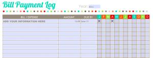 file folder label template home finance worksheet