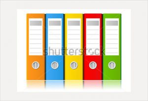 file folder labels template sample file folder label template vector illustration
