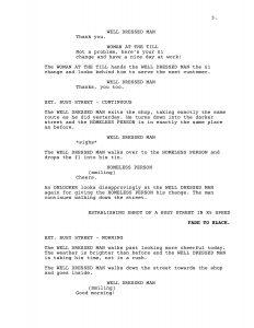 example of a script