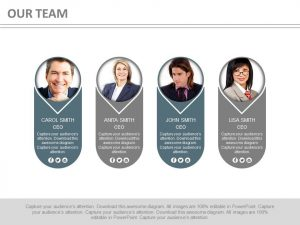 finance report templates four tags for team profile management powerpoint slides slide