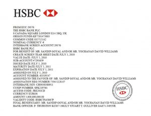 financial report template b hsbc pof david williamssandip goyal