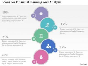 financial statement analysis example business diagram icons for financial planning and analysis presentation template