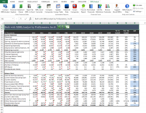 financial statements templates companyfinancials full
