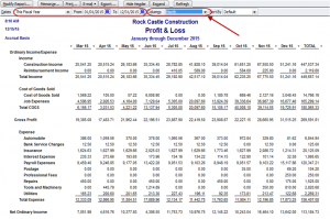 financial statements templates monthly income statement quickbooks