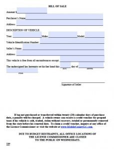 firearm bill of sale texas mobile county bill of sale