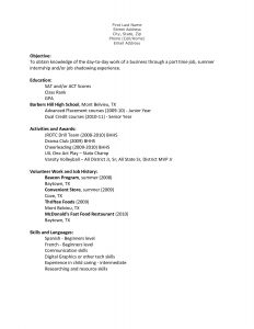 first job resume template teen resume teen resume template and get inspired to make your resume with these ideas rvmets