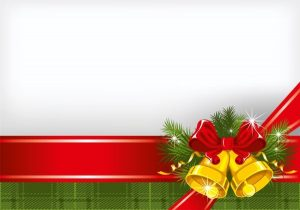 flag banner templates christmas background vector