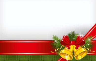 flag banner templates christmas background vector